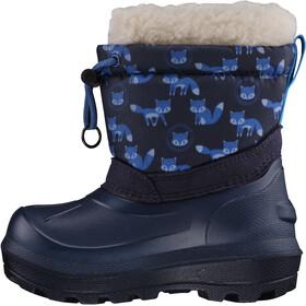Viking Footwear Snowfall Fox Gummistøvler Børn, navy
